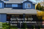 Rate Freeze By FED