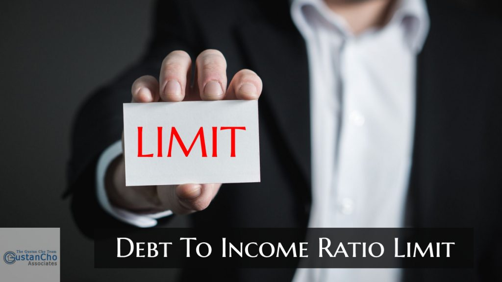 Debt To Income Ratio Limit