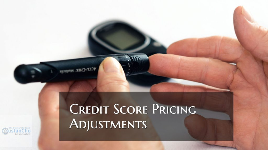 Low Credit Score Pricing Adjustments