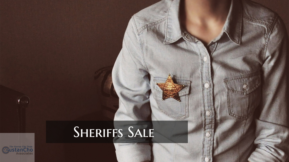 What Does Sheriffs Sale Mean In Home Foreclosures