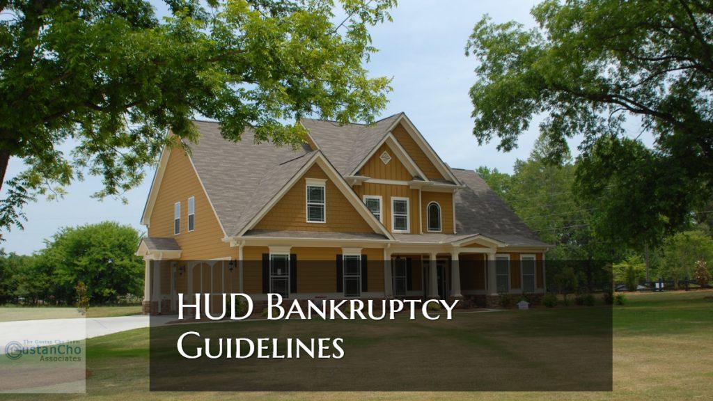 HUD Bankruptcy Guidelines