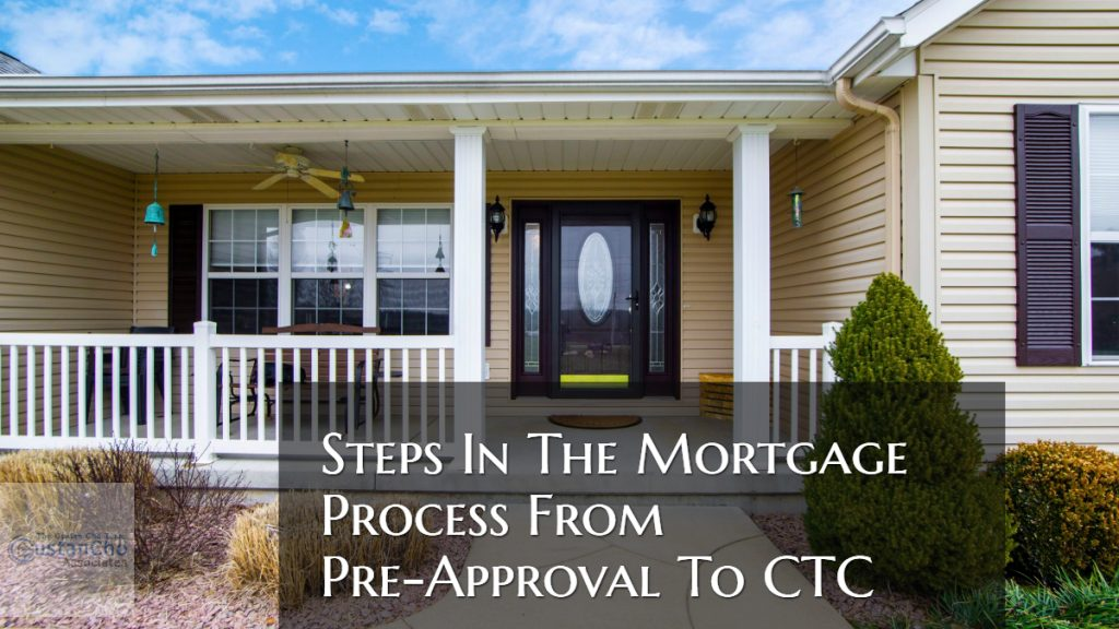 Steps In The Mortgage Process
