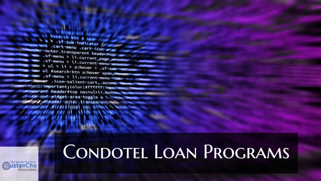 Condotel Loan Programs