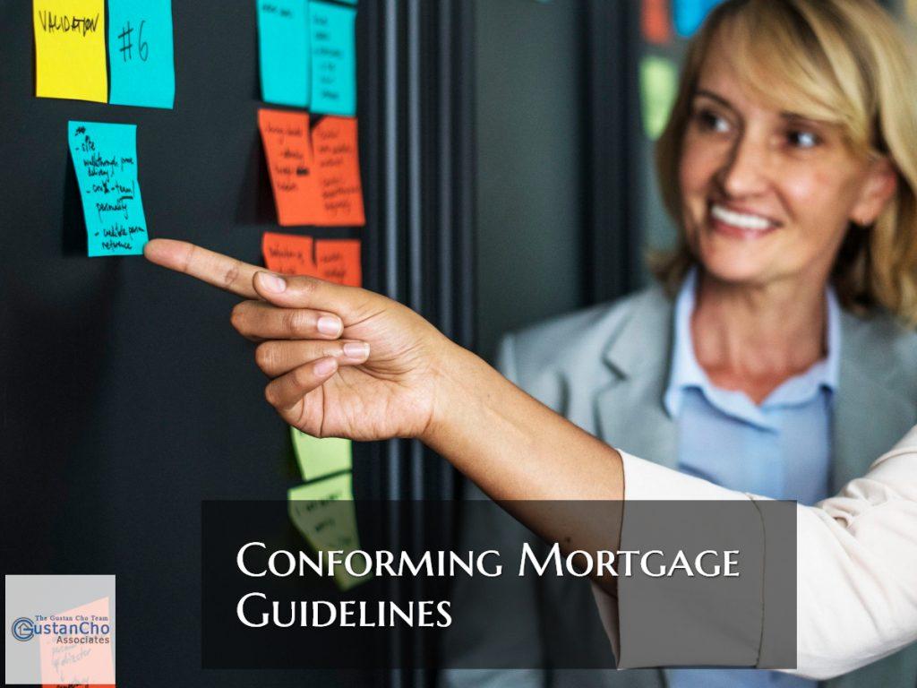 Conforming Underwriting Guidelines