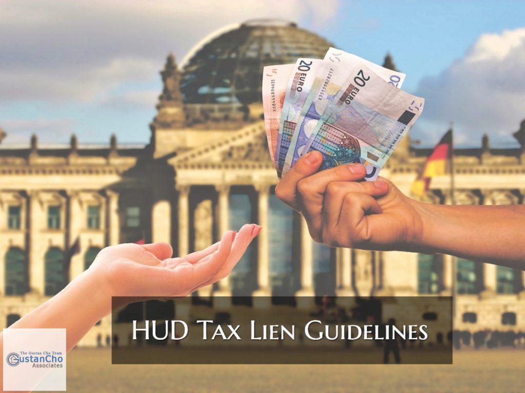 HUD Tax Lien Guidelines