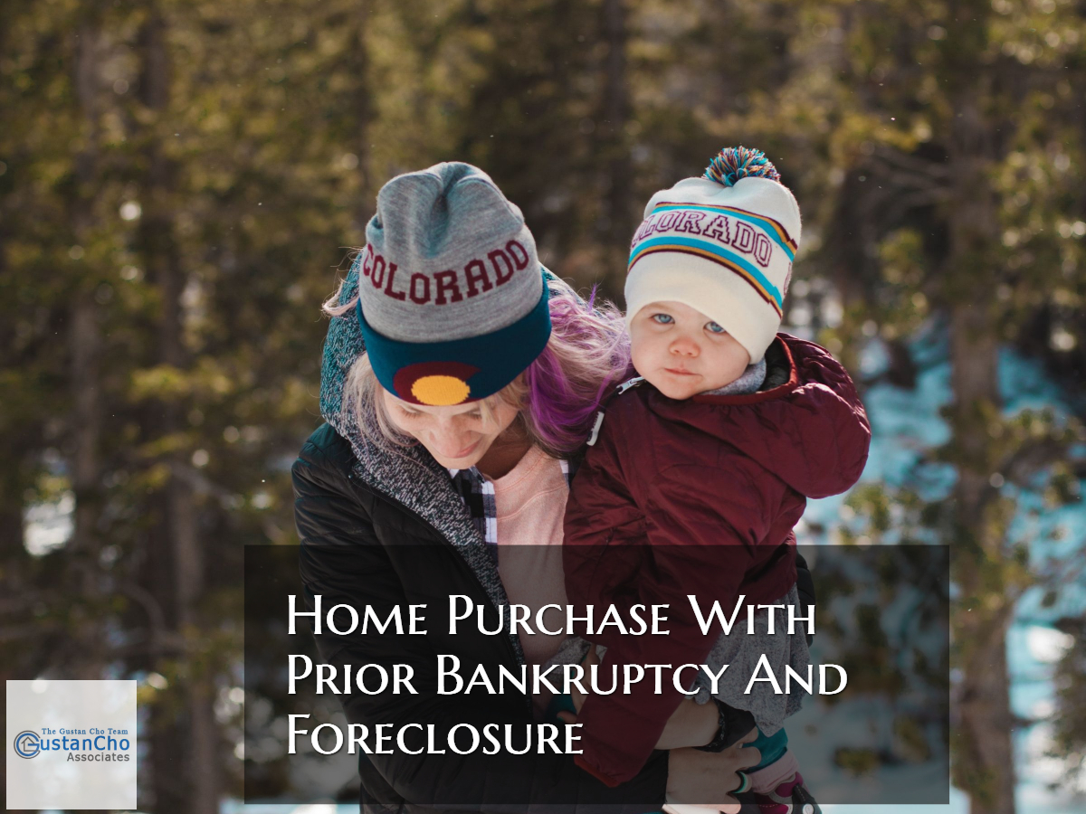 Home Purchase With Prior Bankruptcy And Foreclosure