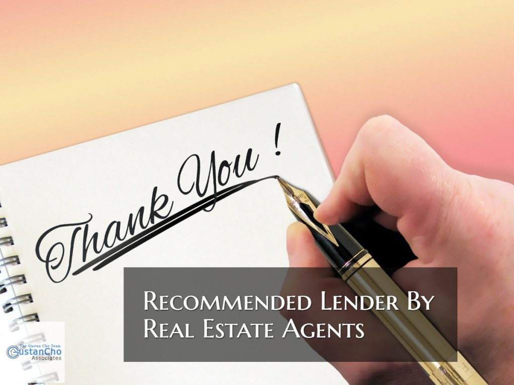 Recommended Lender By Realtors