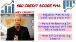 Mortgage Approval With 580 FICO Credit Score With FHA Loans