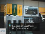 California Gas Prices Hit 5-Year High And Highest In Nation