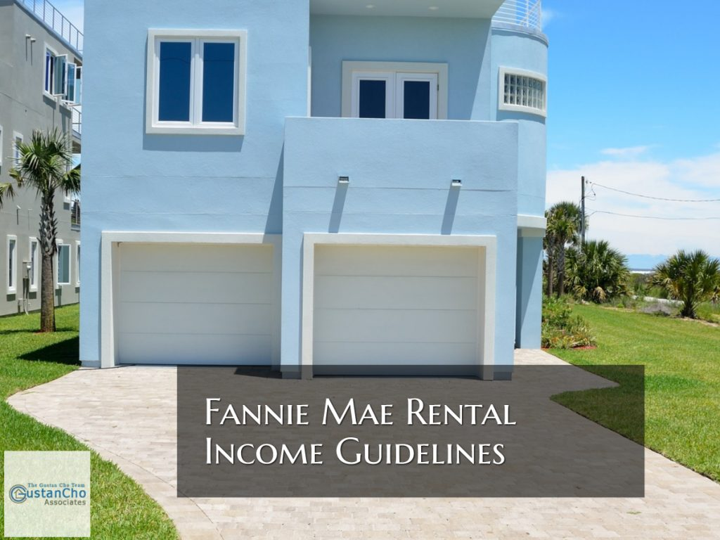 Fannie Mae Rental Income