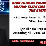 WHAT ARE HIGH ILLINOIS PROPERTY TAXES MAKING TAXPAYERS TO LEAVE THE STATE
