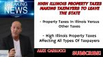 High Illinois Property Taxes Making Taxpayers To Leave The State