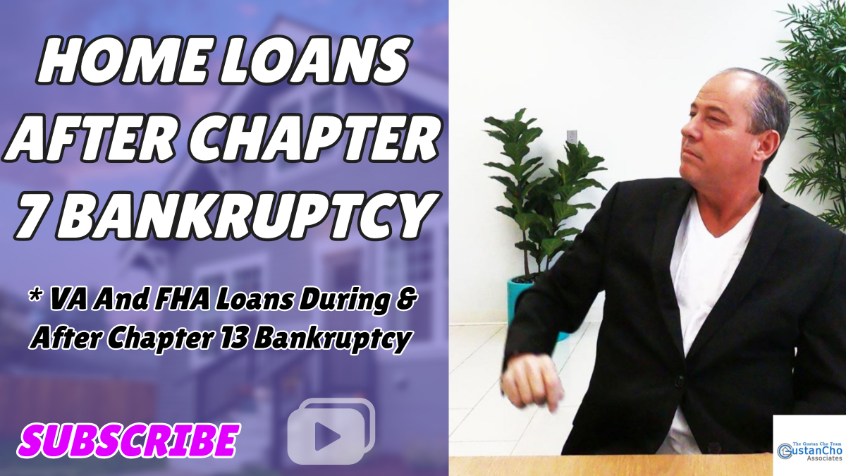 mortgage refinance after bankruptcy chapter 7