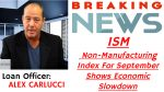ISM Non-Manufacturing Index For September Shows Economic Slowdown
