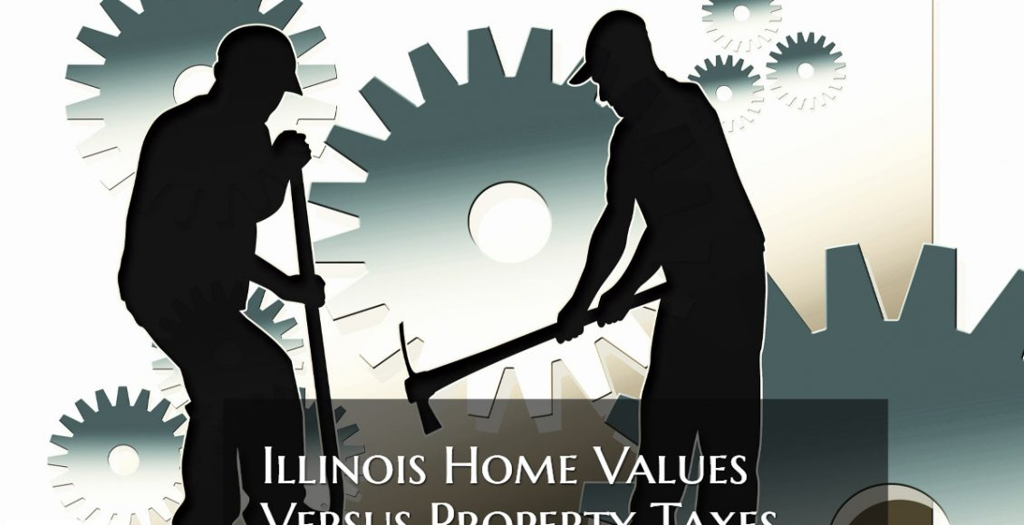 Illinois Home Values Versus Property Taxes