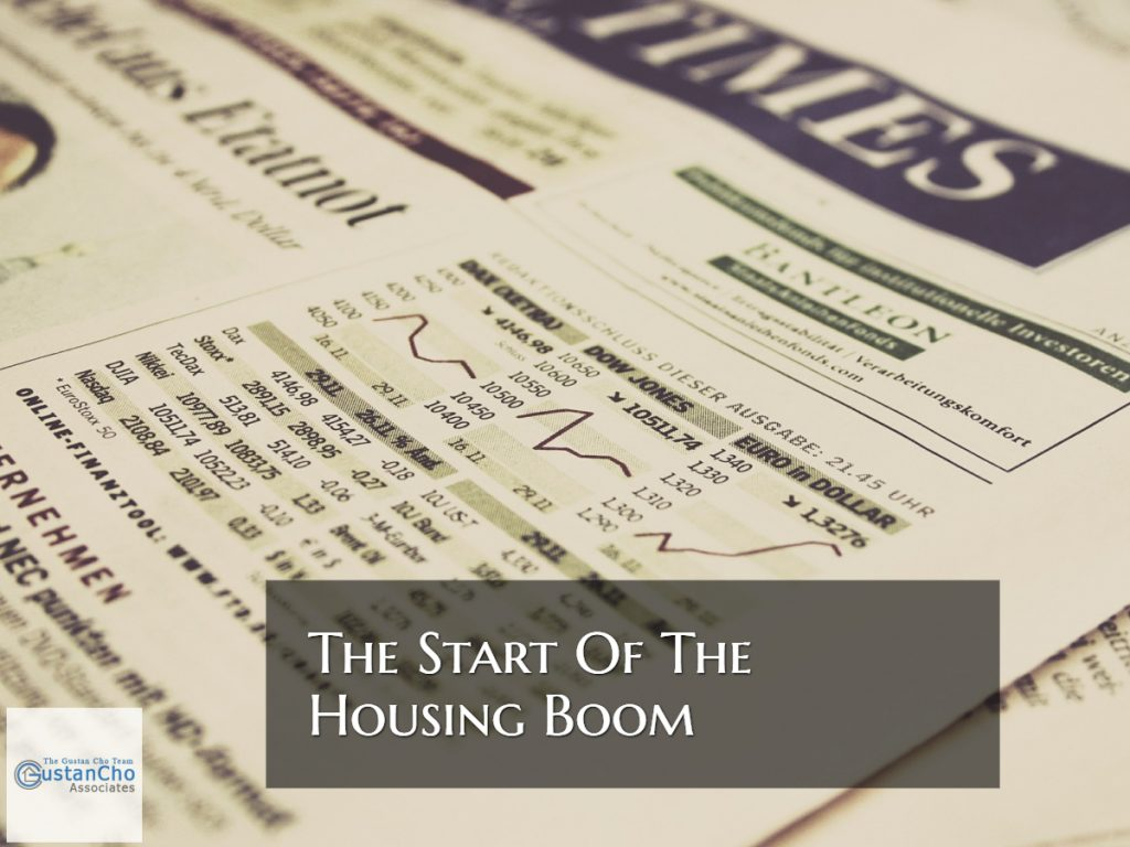 The Start Of The Biggest Housing Boom