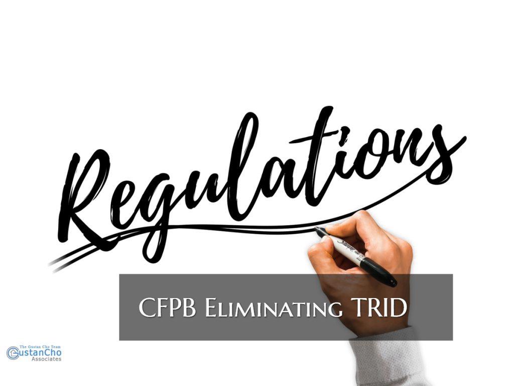 CFPB Eliminating TRID