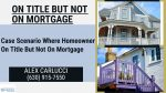Mortgage Guidelines When Homeowner Is On Title But Not On Mortgage