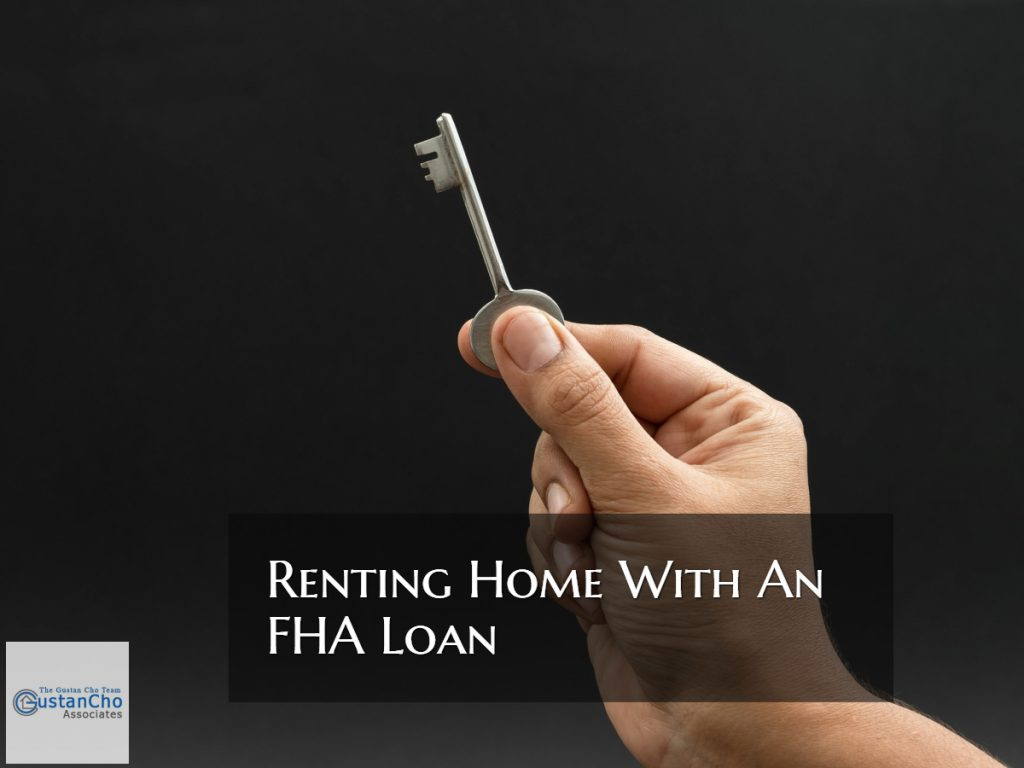 Renting Home With An FHA Loan