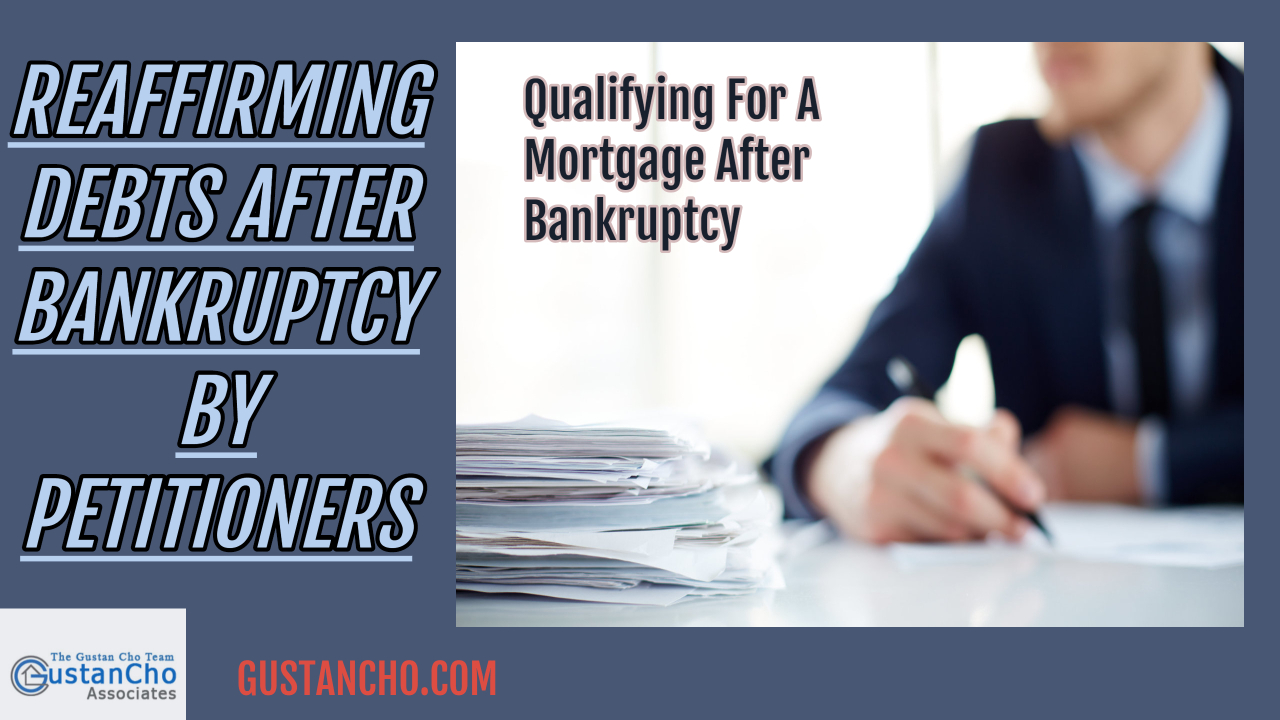 repaying debts after a bankruptcy