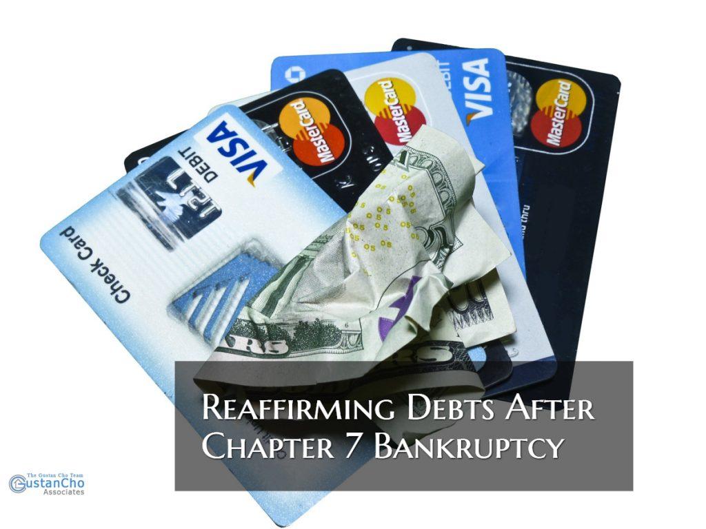 Reaffirming Debts