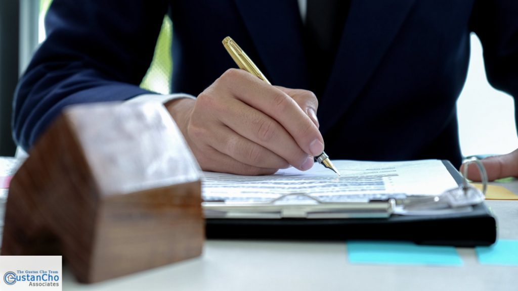 What is included in the property purchase contract