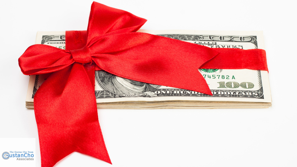 What are the guidelines for mortgage loans for advance gift funds