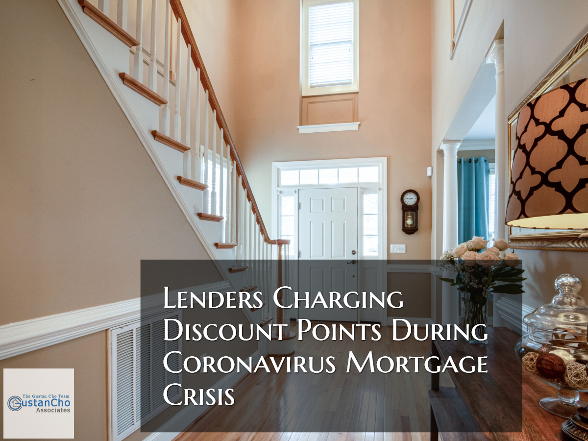 Lenders Charging Discount Points