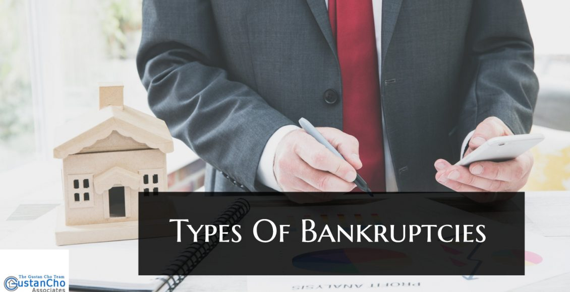 What are the types of bankruptcy