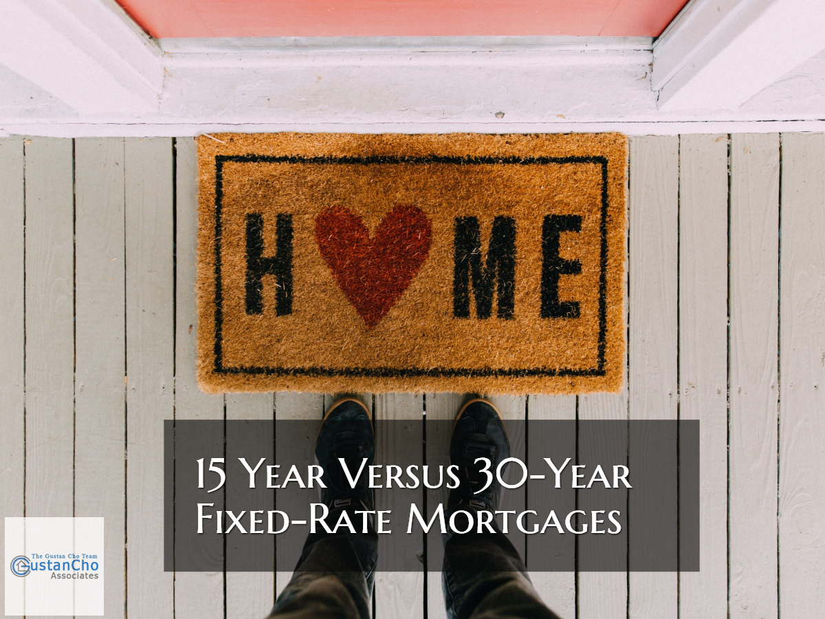 15 Year Versus 30 Year Fixed Rate Mortgages