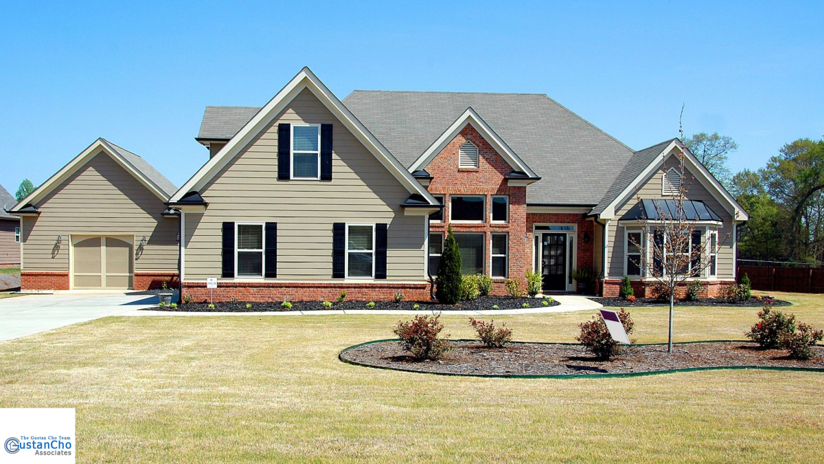 Which means buying a foreclosure home with a loan of 203,000