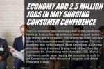 Economy Add 2.5 Million Jobs