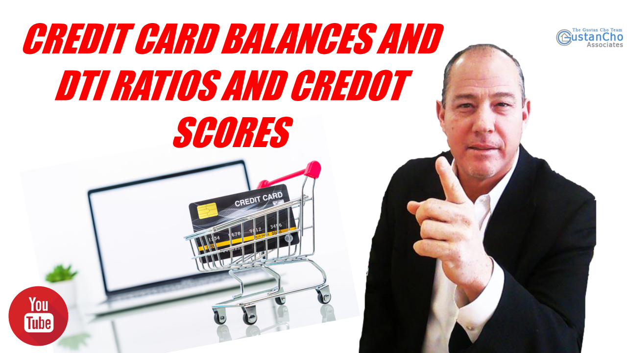 Credit Card Balances And Debt To Income Ratios And Credit Scores