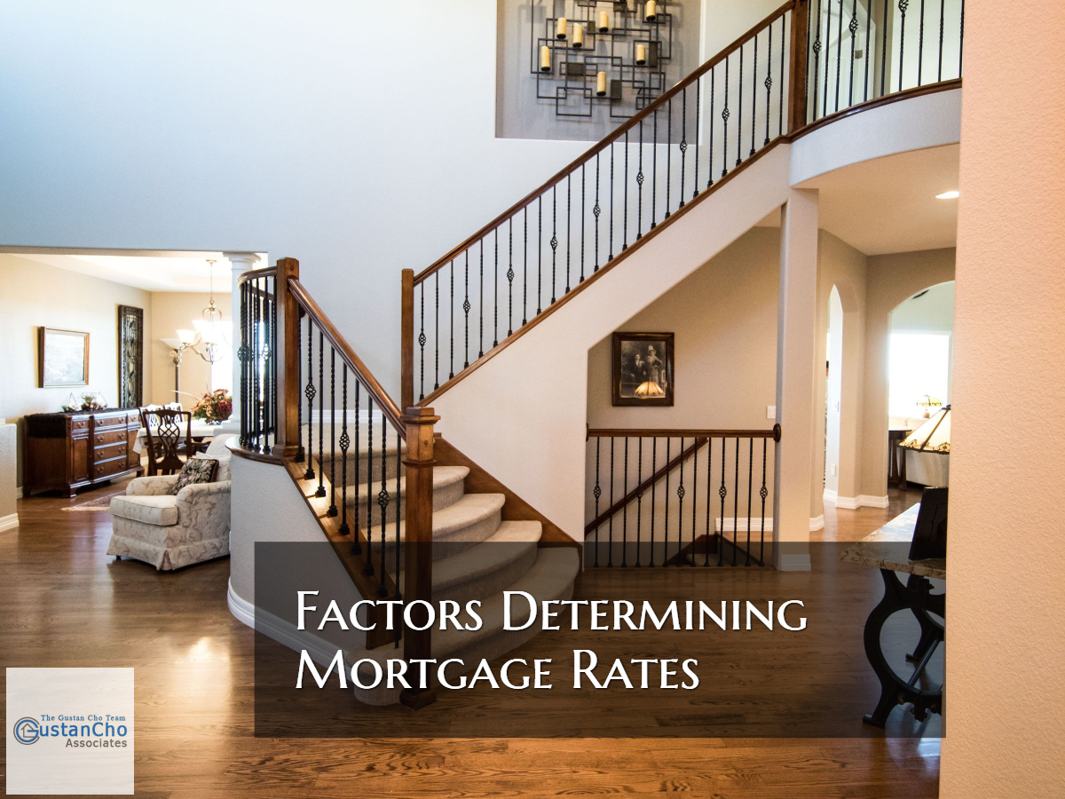 Factors Determining Mortgage Rates On Home Loans