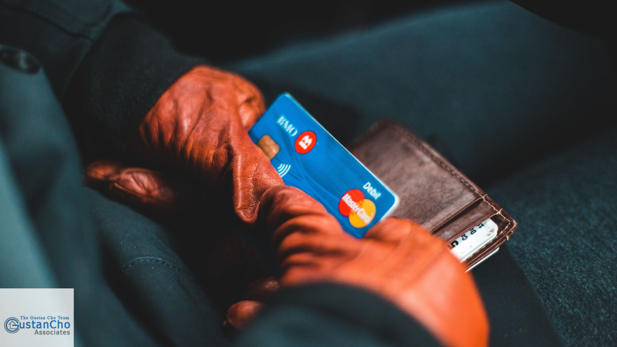 Which means a high debt to income ratio due to your credit card balance