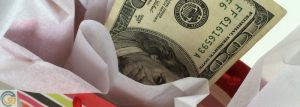 How much are the gift funds for an advance payment