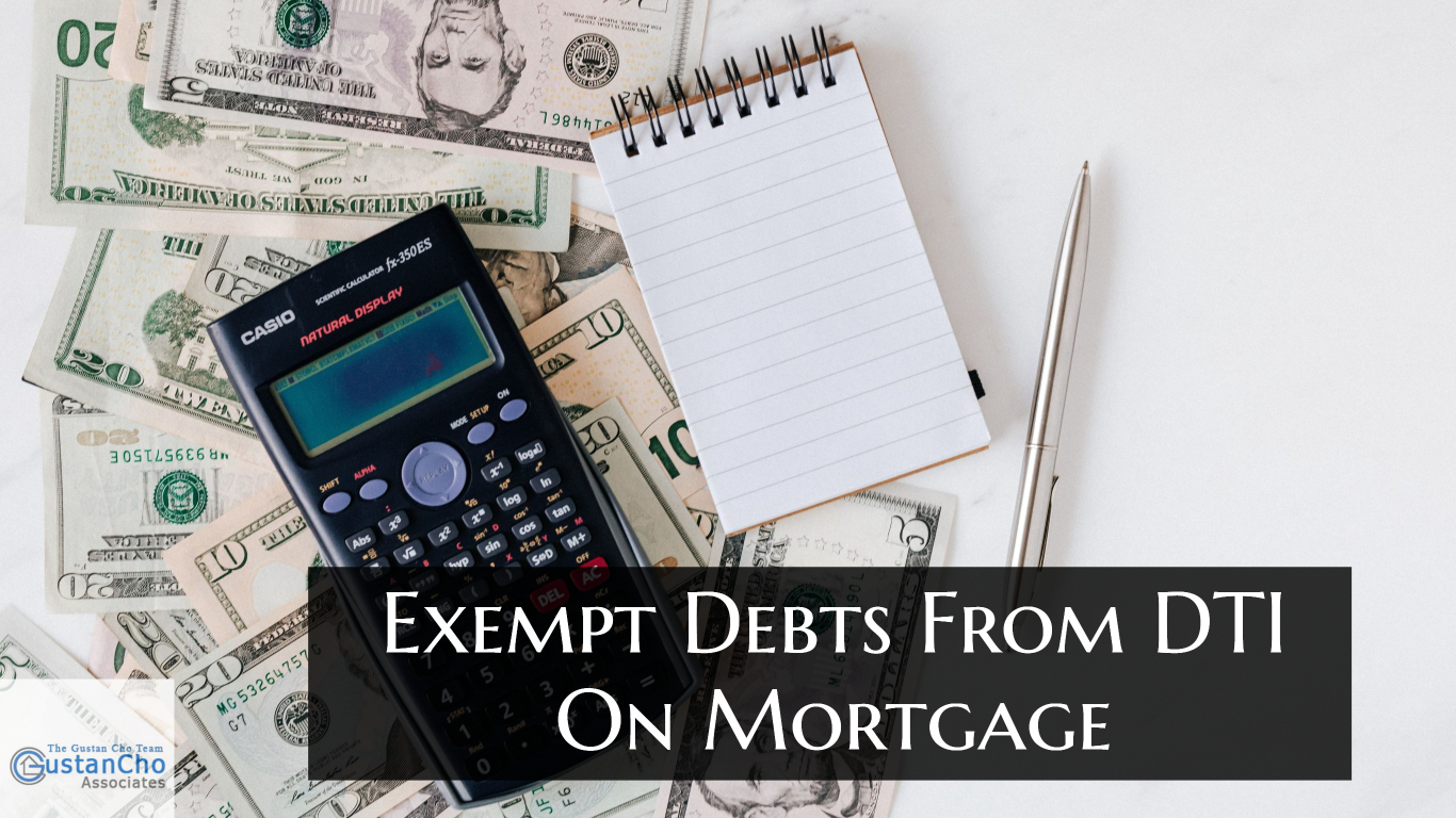 What are DTI debts on a mortgage