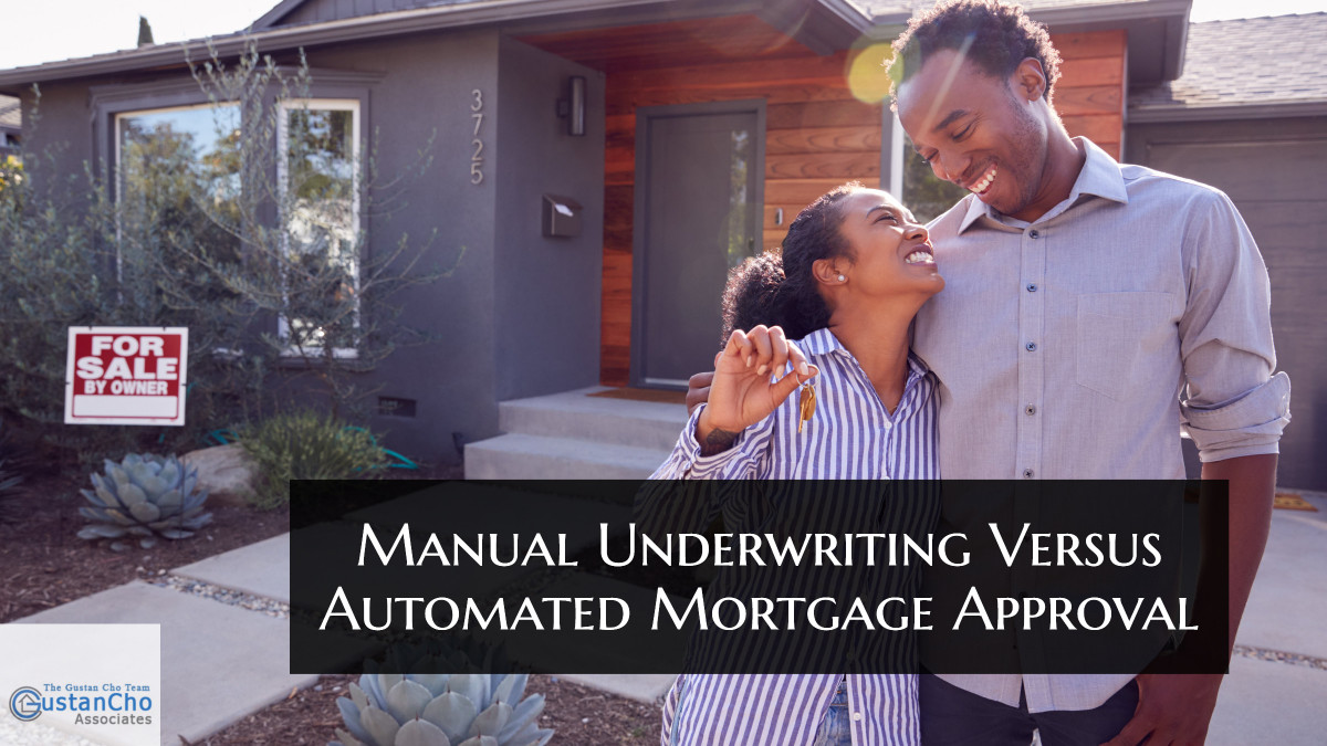 What is manual lending versus automatic approval of mortgage loans