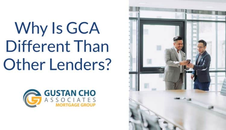 Why is GCA Different Than Other Lenders