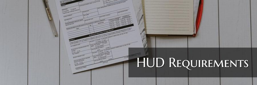 hud requirements