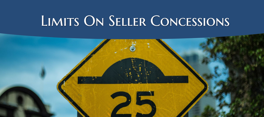 Limits On Seller Concessions