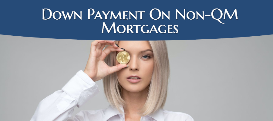 down payment on non-qm loans