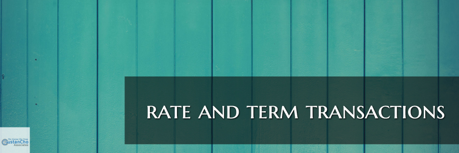 rate and term transactions