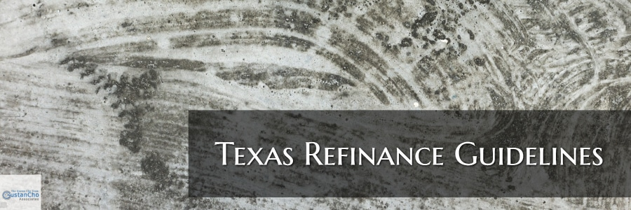 texas refinance guidelies