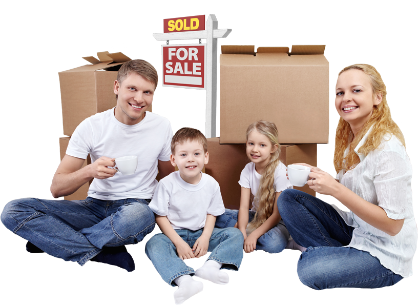 family obtaining a mortgage