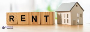 The fair market rent on the subject property as determined by the appraiser