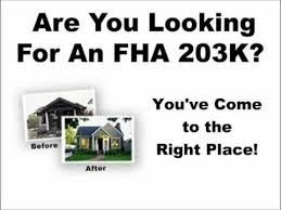 California FHA 203k Lender