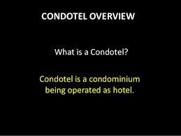 Condotel Loans