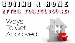 Home Purchase After Foreclosure