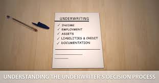 Mortgage Underwriting